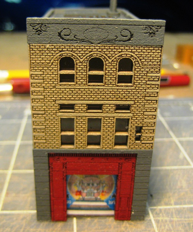 Z Scale Fdny Squad 18 Firehouse